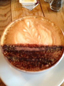 Cappuccino always with a decorative touch